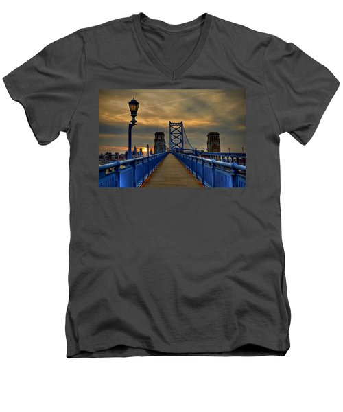 Walk With Me Men's V-Neck T-Shirt