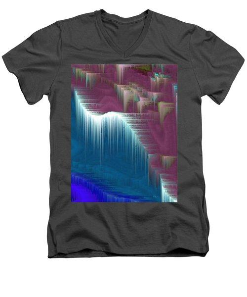 Walking On Air Men's V-Neck T-Shirt