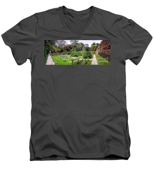 Walled Garden Men's V-Neck T-Shirt