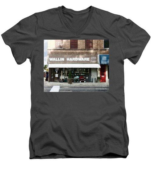 Wallin Hardware Men's V-Neck T-Shirt