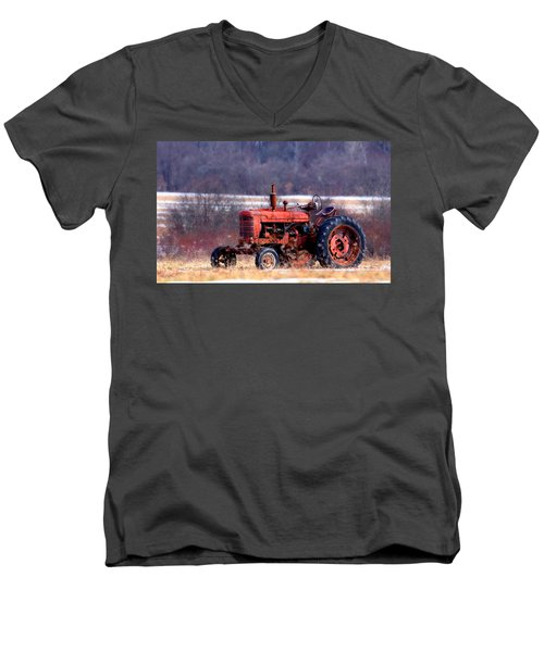 Warrior Of The Fields Men's V-Neck T-Shirt