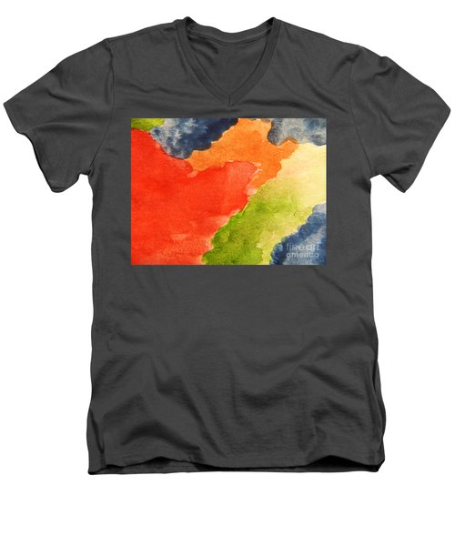 Wash Away Men's V-Neck T-Shirt