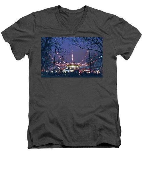 Washington Park Men's V-Neck T-Shirt