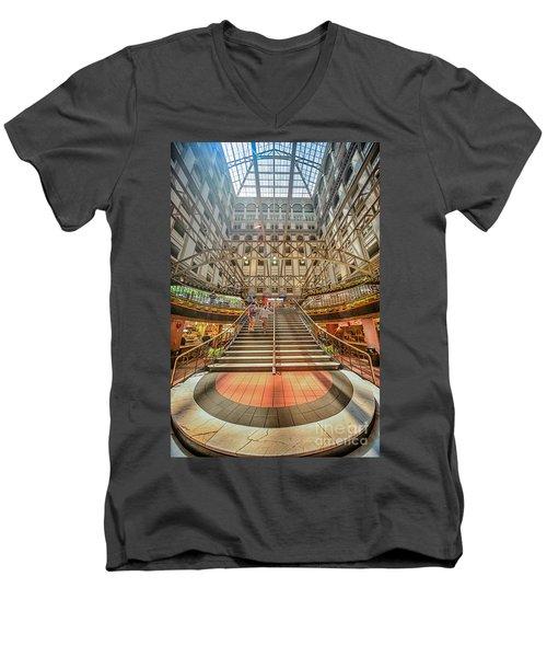 Washington Post Men's V-Neck T-Shirt