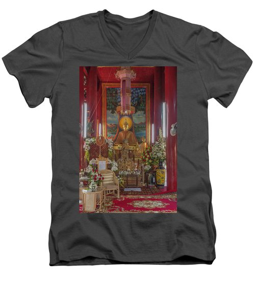 Wat Chedi Liem Phra Wihan Buddha Image Dthcm0827 Men's V-Neck T-Shirt
