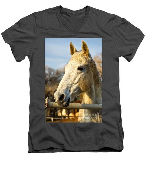Watchin The Sun Set Men's V-Neck T-Shirt