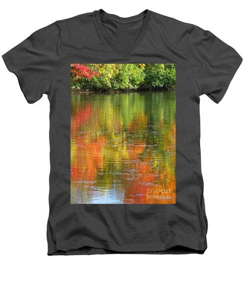 Water Colors Men's V-Neck T-Shirt by Ann Horn