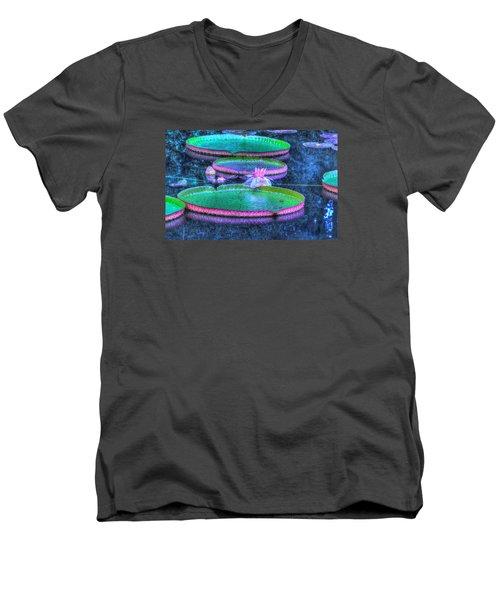 Flower 15 Men's V-Neck T-Shirt