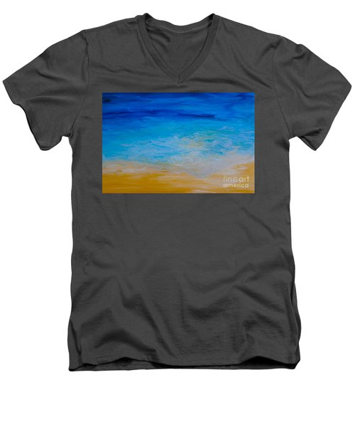 Water Vision Men's V-Neck T-Shirt