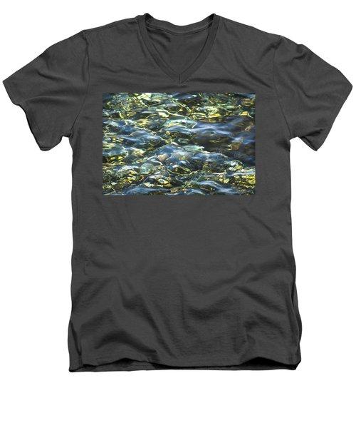 Water World Men's V-Neck T-Shirt