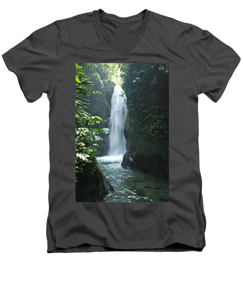 Waterfall Men's V-Neck T-Shirt