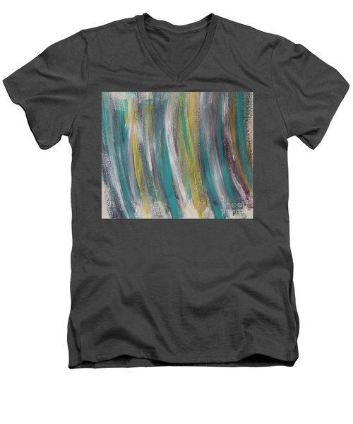 Watery Men's V-Neck T-Shirt