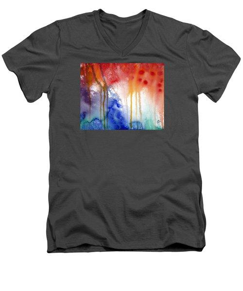 Waves Of Emotion Men's V-Neck T-Shirt