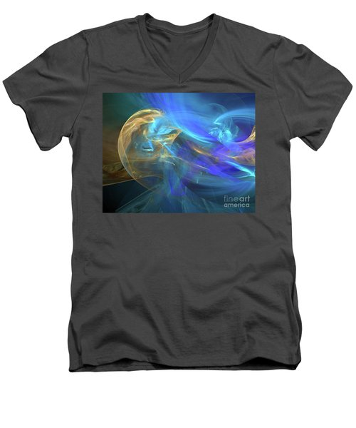 Waves Of Grace Men's V-Neck T-Shirt