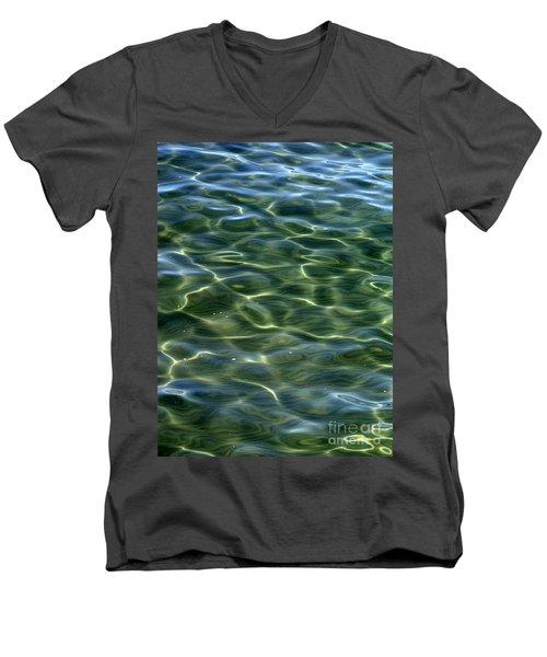 Waves On Lake Tahoe Men's V-Neck T-Shirt