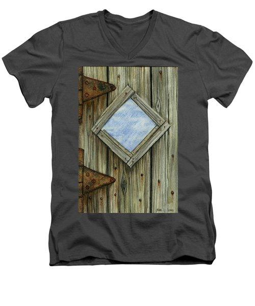 Weathered #2 Men's V-Neck T-Shirt