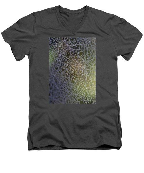 Web Connections Men's V-Neck T-Shirt