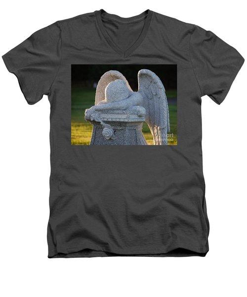 Weeping Angel Men's V-Neck T-Shirt
