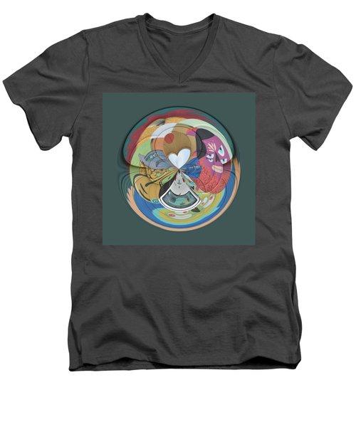 Weird Orb  Men's V-Neck T-Shirt