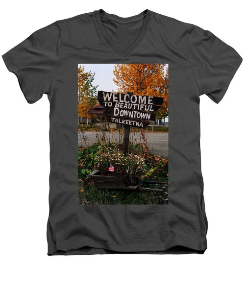 Welcome ... Men's V-Neck T-Shirt