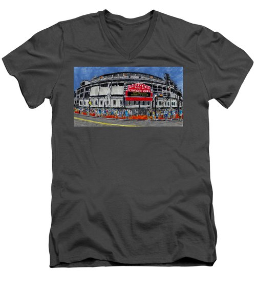 Welcome To Wrigley Field Men's V-Neck T-Shirt