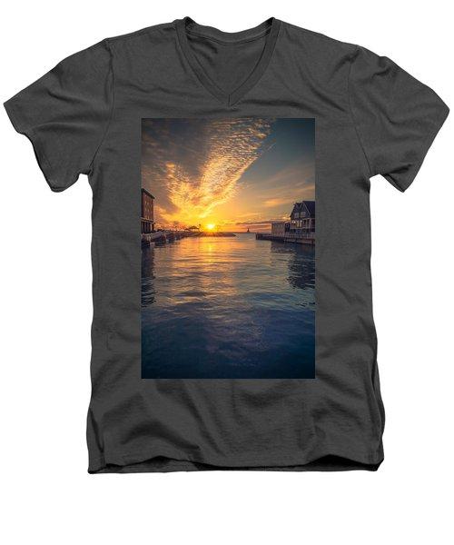 West Slip Surprise Men's V-Neck T-Shirt