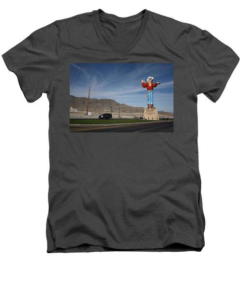West Wendover Nevada Men's V-Neck T-Shirt