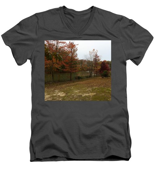 What A Beauitful Day Men's V-Neck T-Shirt by Amazing Photographs AKA Christian Wilson