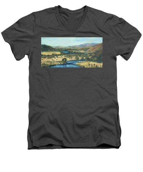 What A Dam Site Men's V-Neck T-Shirt