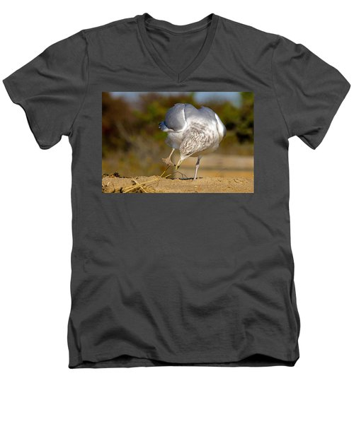 What Did I Just Step In? Men's V-Neck T-Shirt