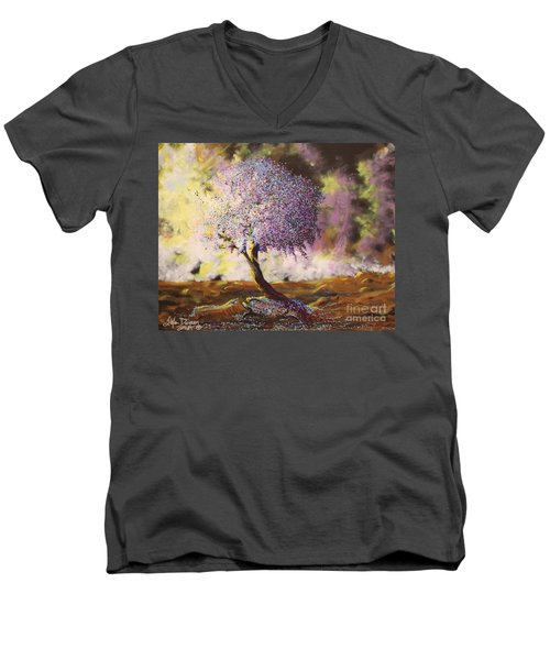 What Dreams May Come Spirit Tree Men's V-Neck T-Shirt