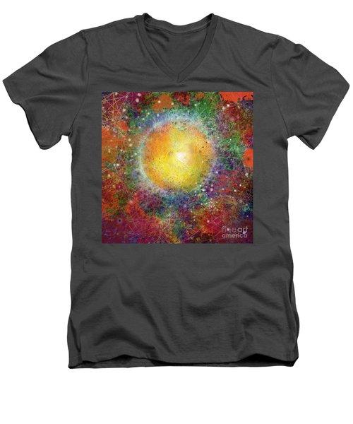 What Kind Of Sun Viii Men's V-Neck T-Shirt by Carol Jacobs