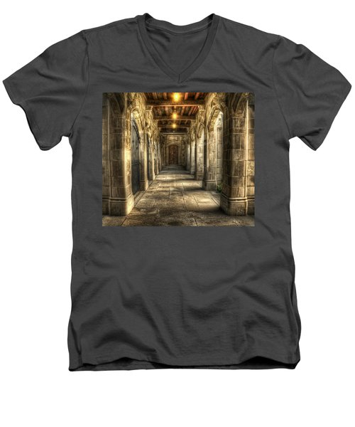 What Lies Beyond Men's V-Neck T-Shirt