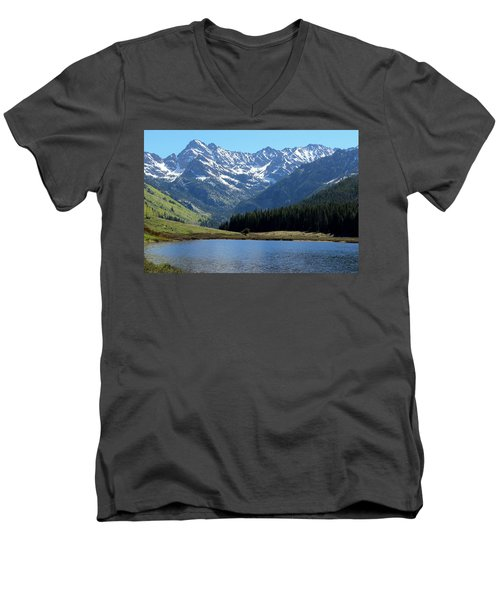 Beautiful Colorado Men's V-Neck T-Shirt