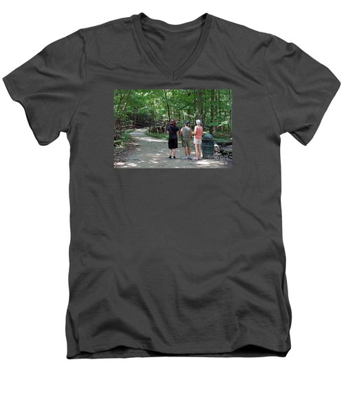 What Was That? Men's V-Neck T-Shirt
