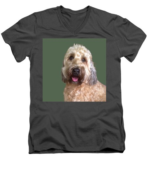 Wheaton Terrier Men's V-Neck T-Shirt