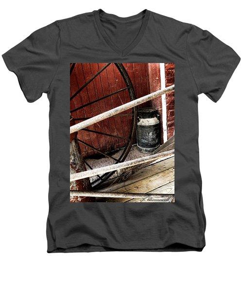 Wheels Of Time Men's V-Neck T-Shirt
