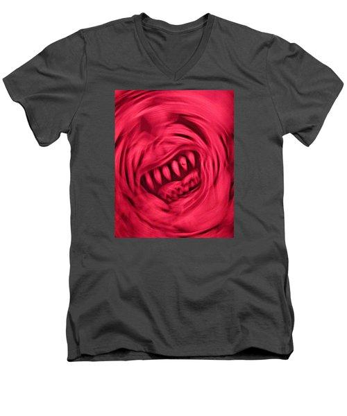 When Anxiety Attacks Men's V-Neck T-Shirt by John King