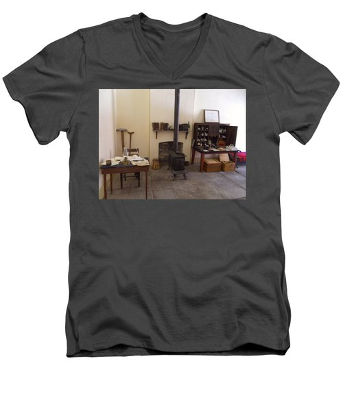 Where Are You General Men's V-Neck T-Shirt by Amazing Photographs AKA Christian Wilson