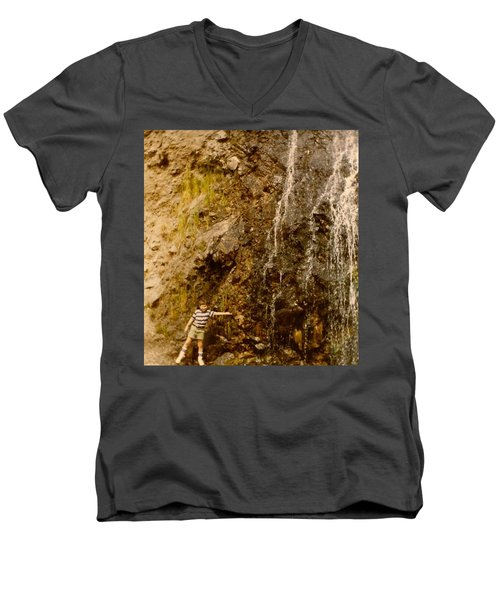 Where Is The Soap Men's V-Neck T-Shirt by Amazing Photographs AKA Christian Wilson