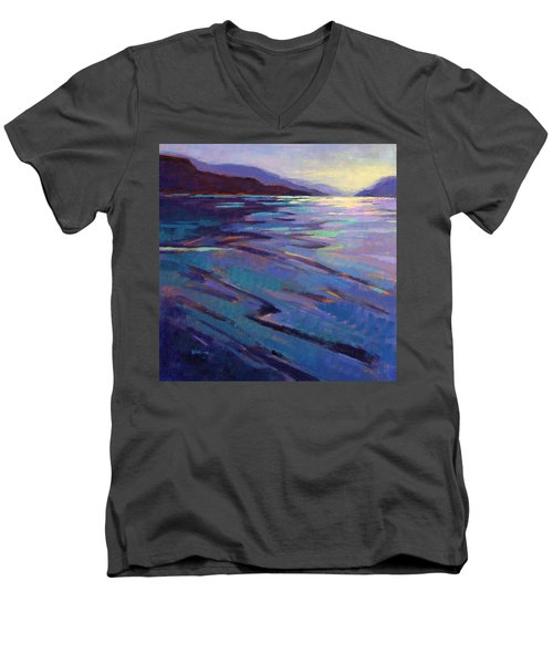 Where The Whales Play 3 Men's V-Neck T-Shirt
