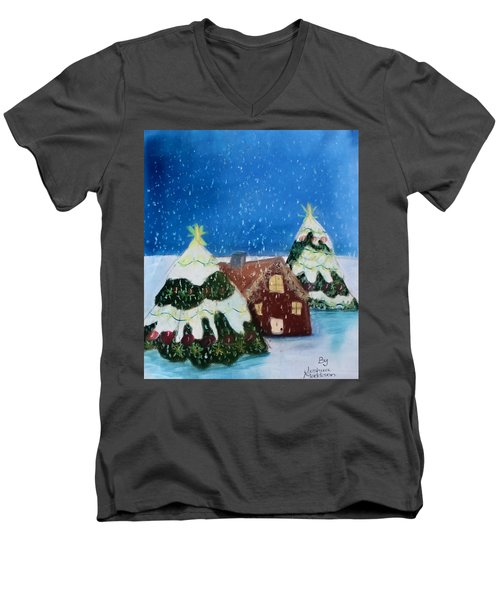 Christmasland Men's V-Neck T-Shirt