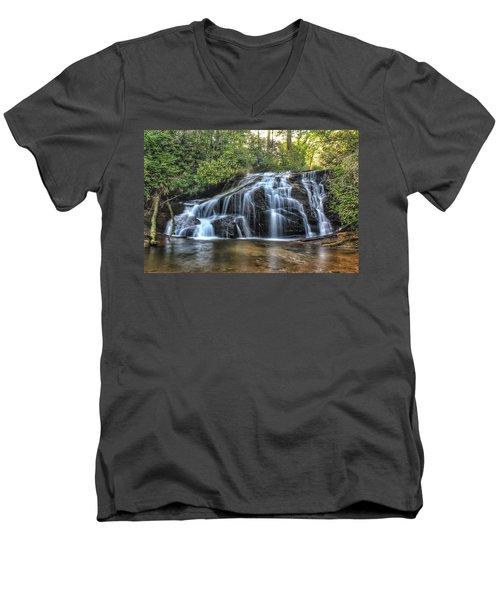 White Owl Falls Men's V-Neck T-Shirt