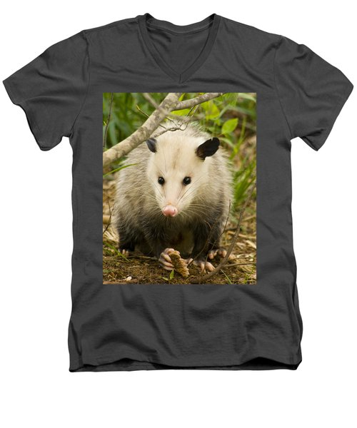 Who Says Possums Are Ugly Men's V-Neck T-Shirt