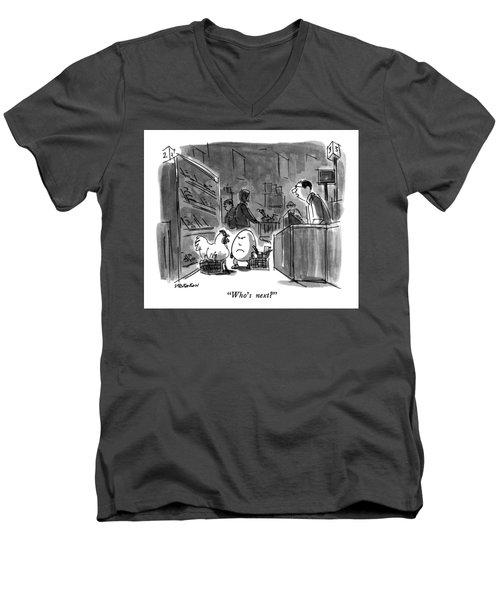 Who's Next? Men's V-Neck T-Shirt