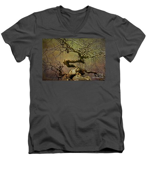 Wicked Tree Men's V-Neck T-Shirt
