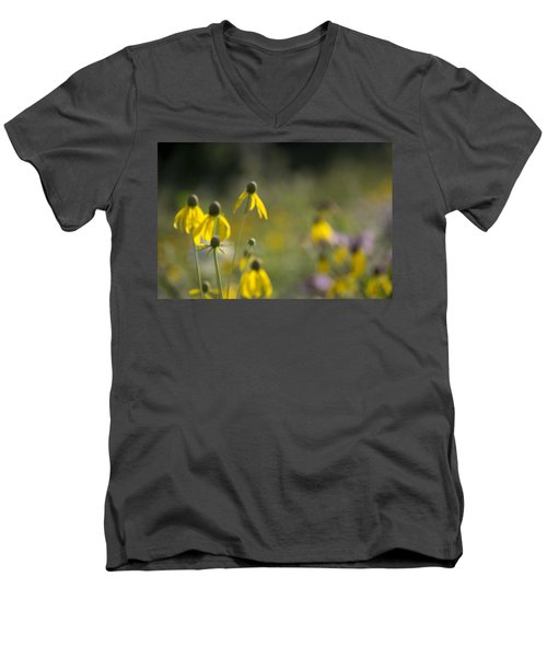 Wild Flowers Men's V-Neck T-Shirt