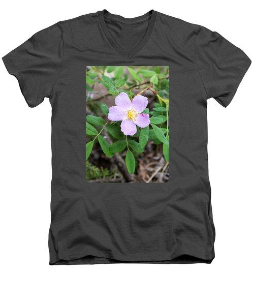 Wild Gentian Men's V-Neck T-Shirt