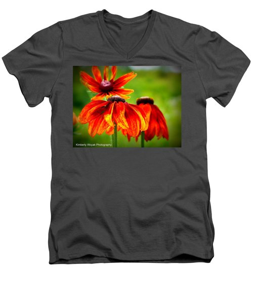 Wildest Bloom Men's V-Neck T-Shirt