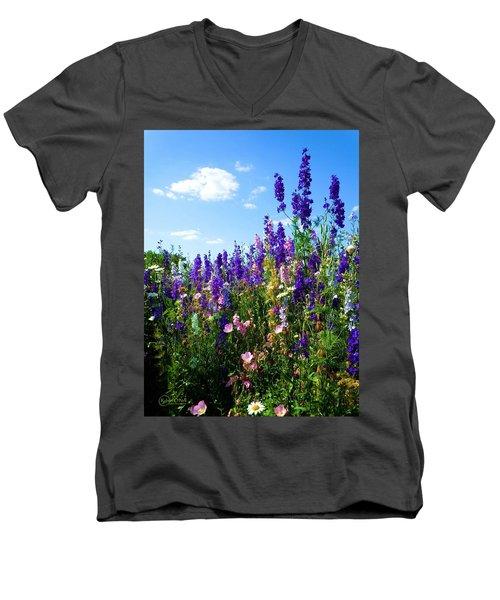 Wildflowers #9 Men's V-Neck T-Shirt